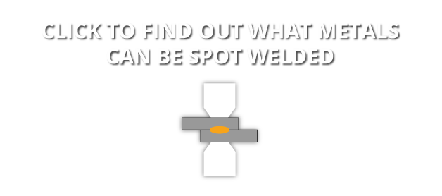 Find out what metals can be spot welded