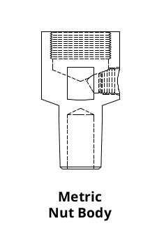 Tuffaloy Metric Nut Body Header