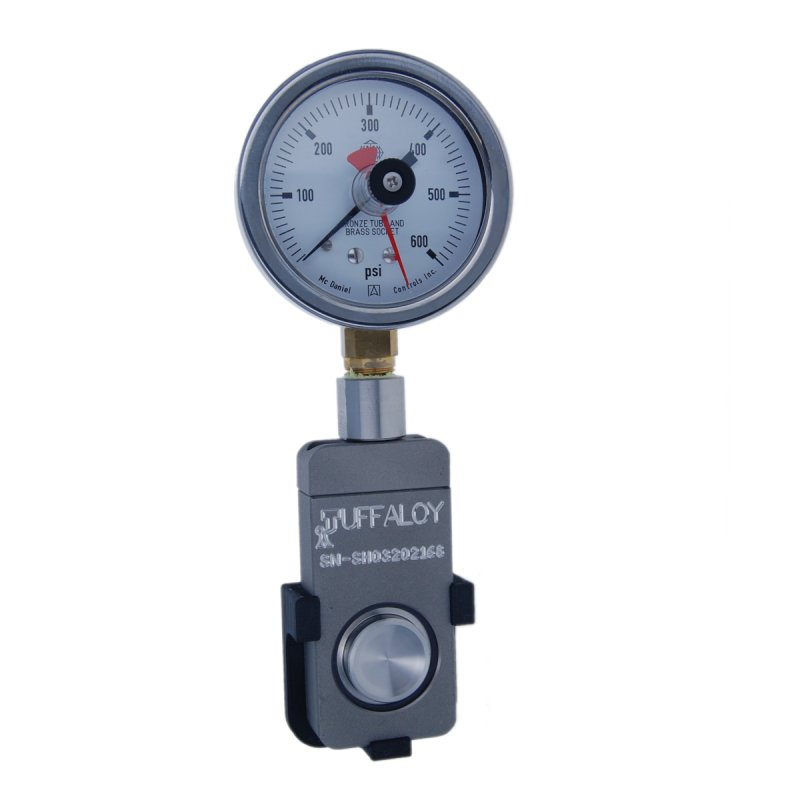 Analog Weld Gauge 600 LB without case